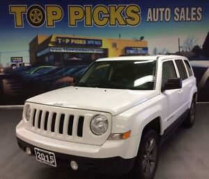 2015 Jeep Patriot HIGH ALTITUDE, LEATHER, SUNROOF, 4X4!