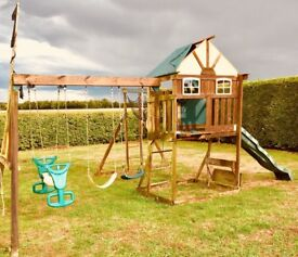 Extra Large Wooden Garden Play-set