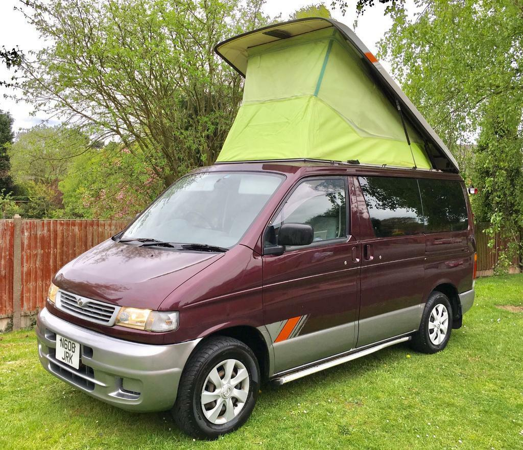 MAZDA BONGO CAMPERVAN 4 BERTH, FULL 321 CONVERSION, ONLY 75K 2.P OWNERS