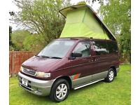 MAZDA BONGO CAMPERVAN 4 BERTH, FULL 321 CONVERSION, ONLY 75K 2.P OWNERS! 7 STR!