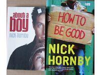 Nick Hornby paperback books