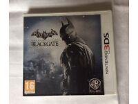 Batman Arkham Origin Blackgate 3DS game