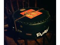 LE BLOND SNARE DRUM CASE. 9 INCHES MAXIMUM DEEP. EXCELLENT CONDITION. CAN ALSO BE USED AS HAT BOX.