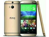 Htc One M8 Gold (Unlocked) in good condition