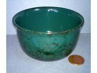 marbled stoneware bowl