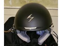 Scorpion exo 100 motorcycle helmet