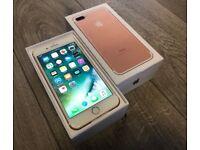 Apple iPhone 7 Plus 128GB - Rose Gold (Unlocked)