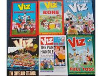 6 Viz annuals and 6 monthly editions