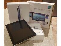 64Gb iPad 4th Gen Retina Display (boxed) with Desk/Bed bracket Mount!