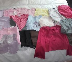 Girls age 6-7 £12 for all.8x tshirts,shorts,4x leggings,jeans,2x skirts,2x jumpers,top.See pics,VGC.