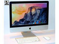 " 21.5"" Apple iMac 3.06Ghz i3 12gb 2TB HDD Logic Pro X Cubase 8 Ableton Reason Native Instruments "