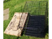 "Medium Dog Crate/Cage, 30"" Long"