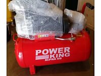 Never used Air compressor for sale 50L 2HP