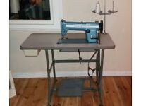 Vintage Singer Industrial peddle powered sewing machine