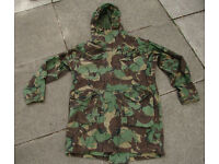 British Army Falklands War Issue DPM Cold Weather Windproof Parka with Free Liner if wanted