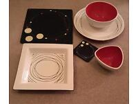 Dinner set - incl cutlery - excellent condition