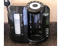 Black Tommee Tippee Perfect Prep Bottle Machine