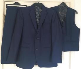 Boys blue suit
