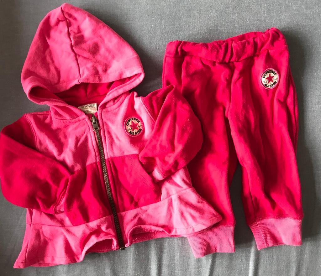 Converse toddler tracksuit age 18months