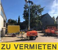 Lichtmast auf Anhänger - Flutlichtmast -  ZU VERMIETEN Nordrhein-Westfalen - Dinslaken Vorschau