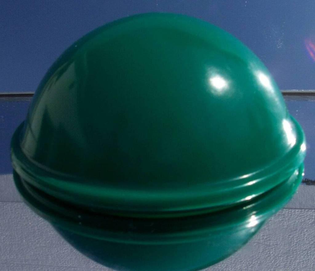 New nos 1950s green simplex reed drive-in movie speaker junction box dome