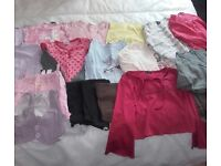 Girls age 6-7 £12 for all.8x t shirts,shorts,4x leggings,jeans,2x skirts,2x jumpers,top.see pics