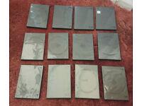 12 Black DVD Cases
