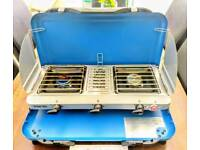 Cammping Stove, 2x birners / grill