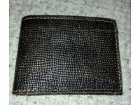 Fossil Bifold mens wallet (genuine leather)