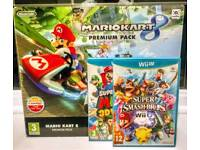NINTENDO WII U CONSOLE PREMIUM PACK + 3 GAMES INCLUDED