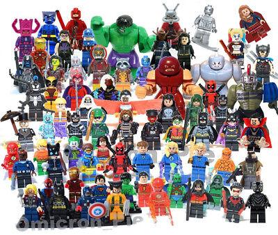 NEW! Lego and Custom Minifigures Super Hero Toy Mini Figures [CHOOSE]