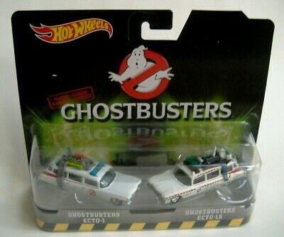 HOT WHEELS CLASSIC GHOSTBUSTERS ECTO-1 & ECTO-1A - 1:64 Scale