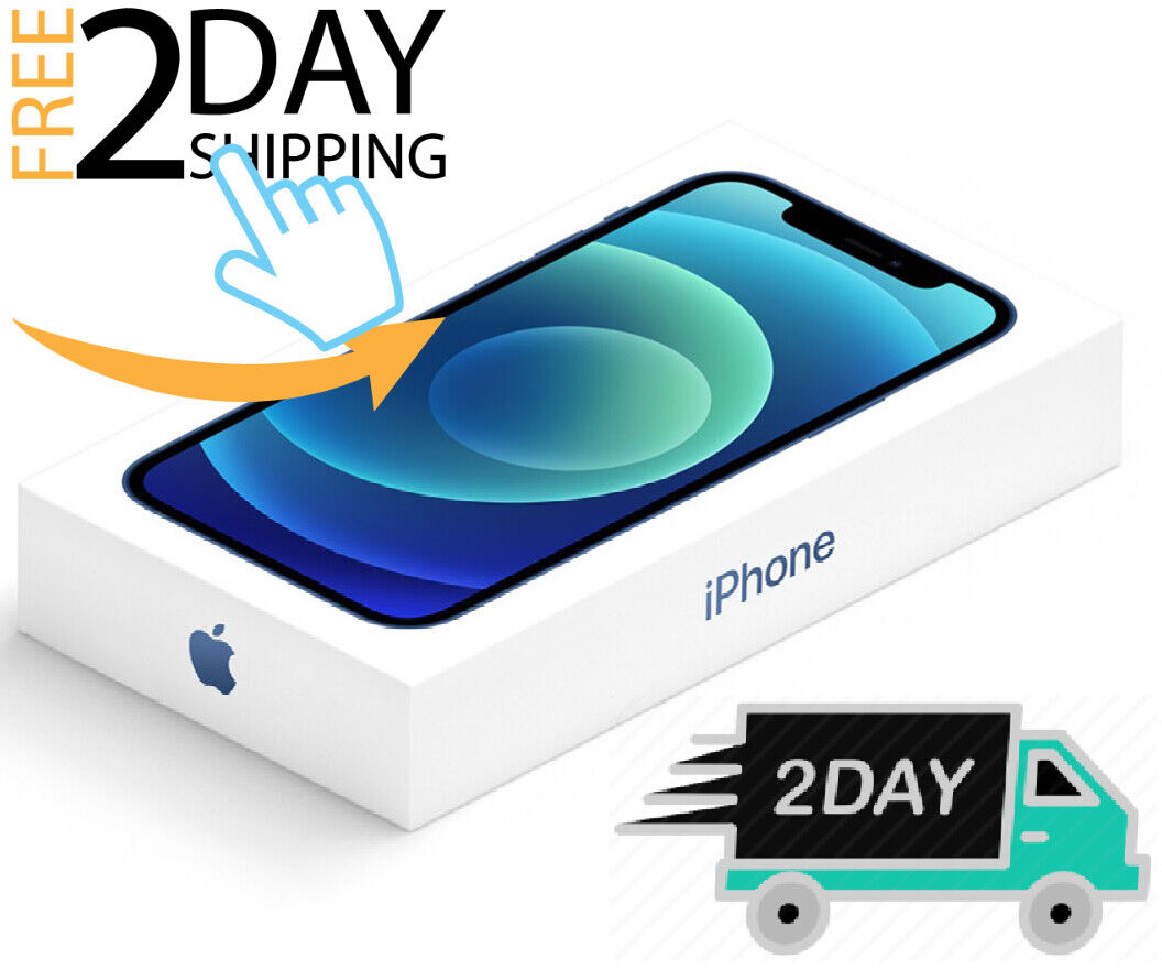 Apple iPhone 12 - 64GB / 128GB (UNLOCKED)  Factory Warranty  ⚫⚪🔴🔵 ✤NEW SEALED✤ 1