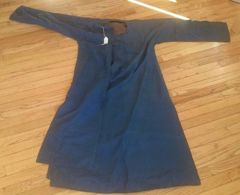 CHINESE BLUE SILK ROBE 20TH CENTURY Christies Auction Provenance