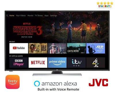 JVC lt-40cf890 Fire TV 40 inch flat screen smart jvc tv full hd 1080p Netflix
