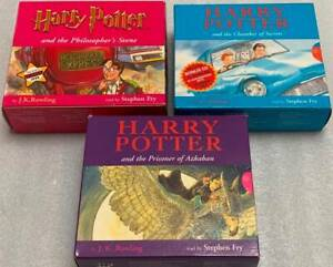 Harry Potter Audio Book CD sets - First three books only