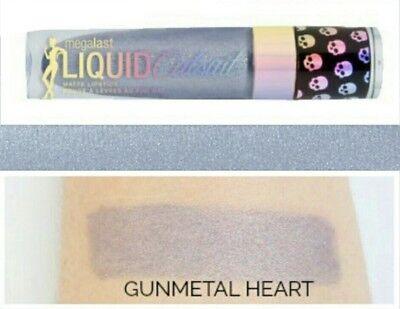 "Gunmetal Heart - Wet-n-Wild L.E. (Gunmetal Heart) Megalast Liquid ""Catsuit"" Metallic Lipstick"