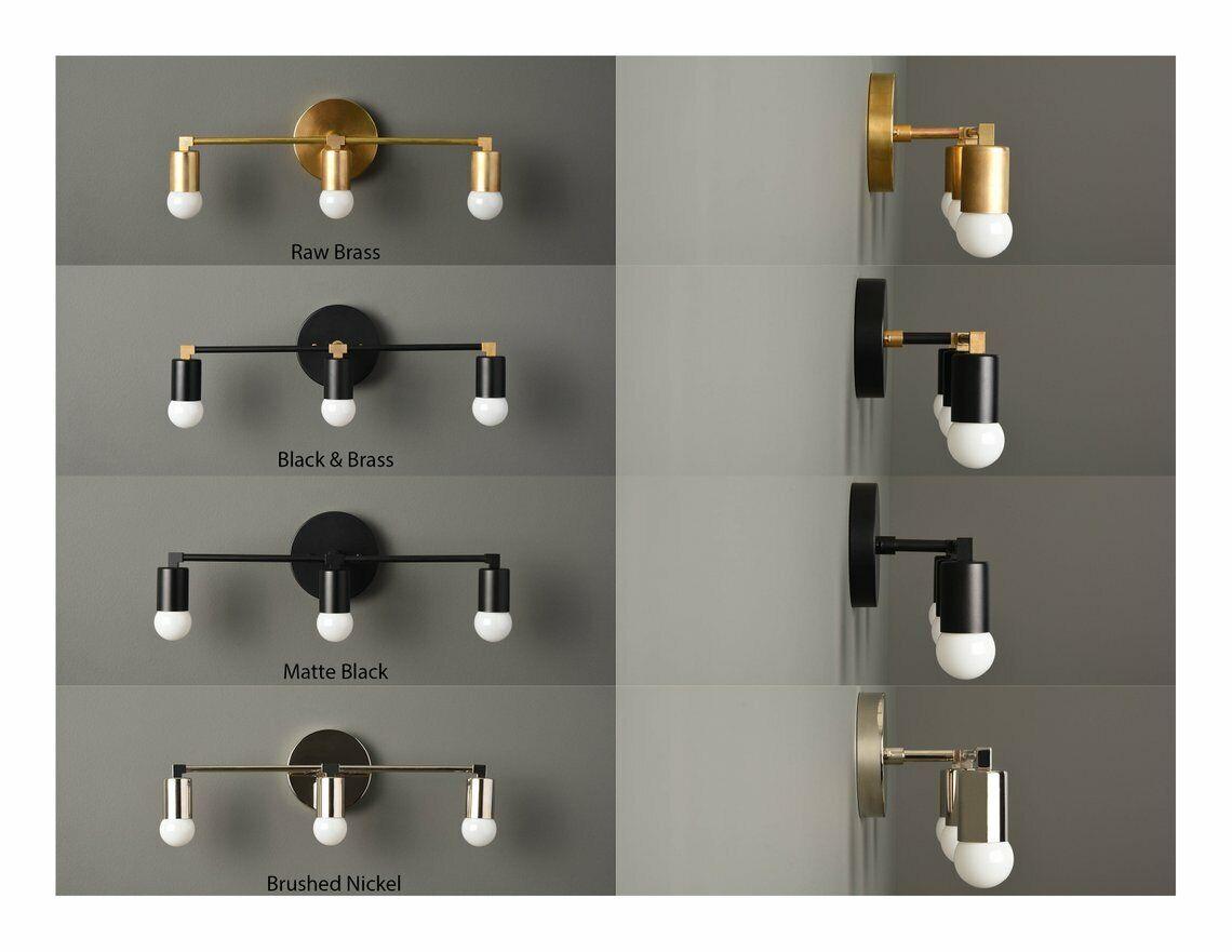 Wall Sconce Modern Lamp Light Bathroom Vanity Industrial Mod