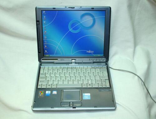 FUJITSU LIFEBOOK T Series T3000 Laptop 80GB HDD 256MB RAM NO ADAPTER For Parts