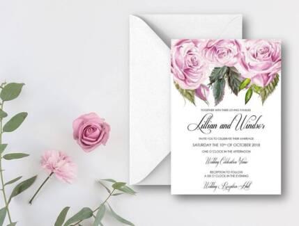 Studio sand wedding stationary invites and design other 400 lillian rose invitation suite wedding adelaide cbd junglespirit Choice Image