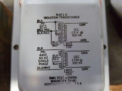Lot of 4 Dayton Audio Dayton VIT-1 Isolation Transformer Eliminates 60 Hz hum