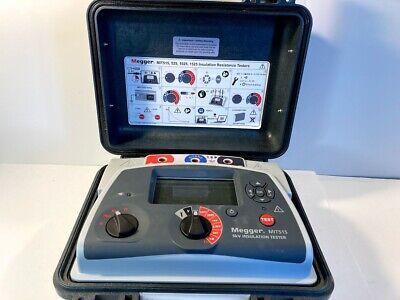 Megger Mit515 5kv Insulation Tester Megohmmeter - Ready For Calibration