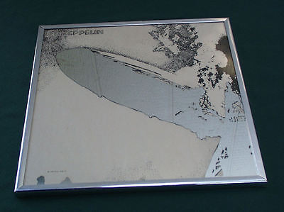 LED ZEPPELIN PROMOTIONAL ALBUM COVER MIRROR SWAN SONG 1969 ORIGINAL BARRY IMHOFF