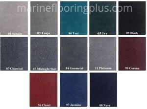 20oz cut-pile Marine Outdoor BASS Boat Carpet- 6' wide -You Choose Length/Color!
