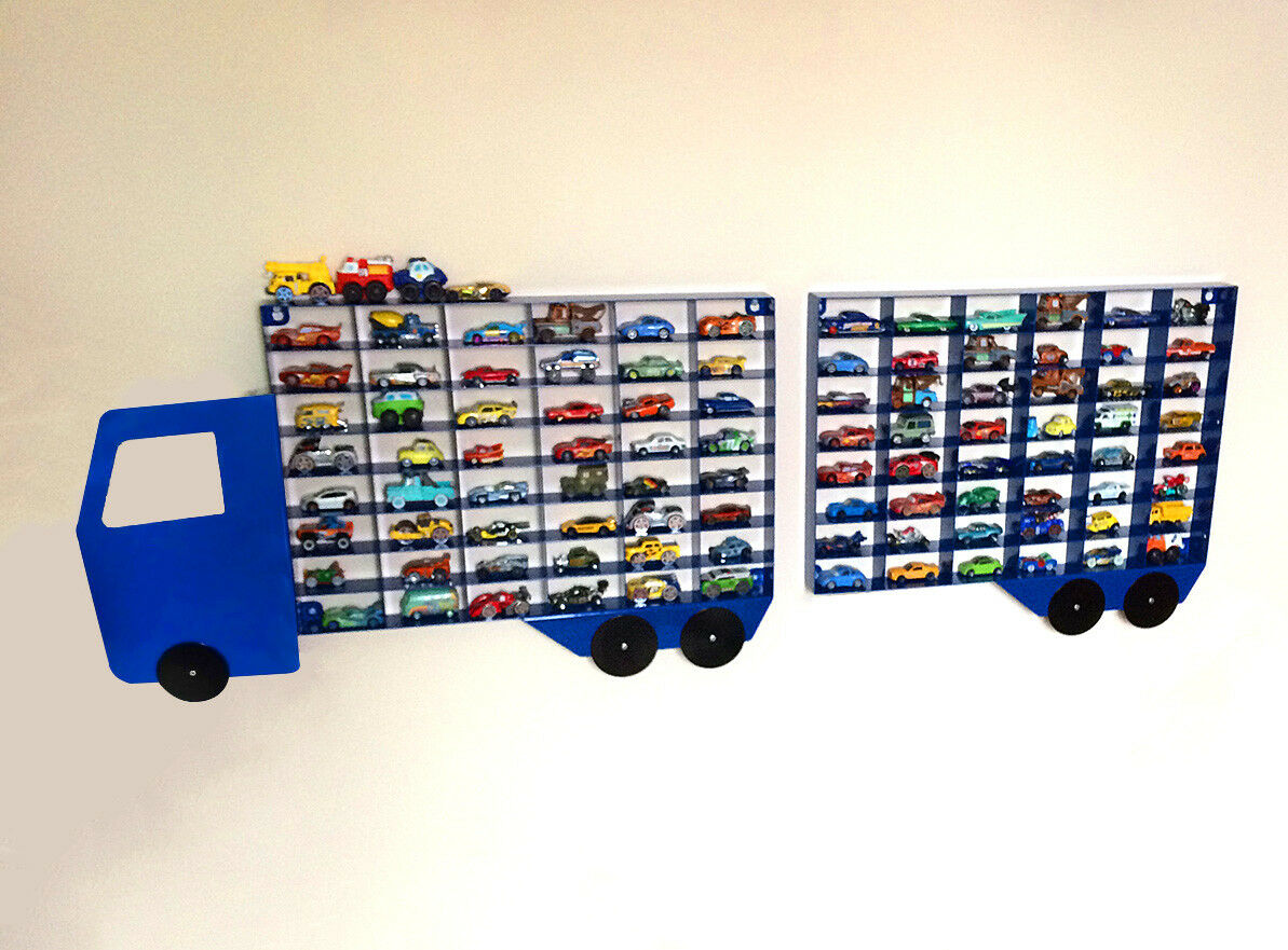 Toy Car Shelves : Toy car storage shelf display hot wheels disney diecast