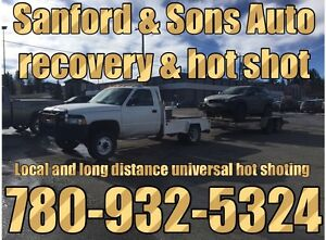 Sanford & Sons Auto recovery and hot shot