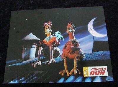 Chicken Run Lobby Cards - Animation - French Set of 8 stills