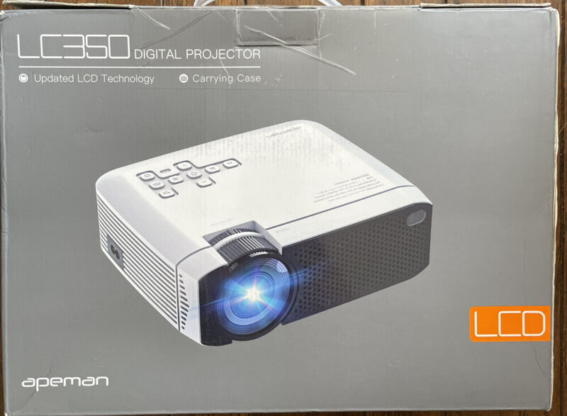 Apeman LC350 Digital Projector