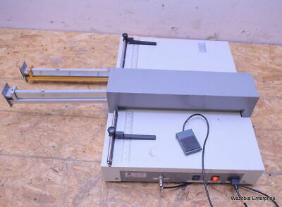Jb James Burn Procrease-e-plus Creasing And Perforating Bindery Machine