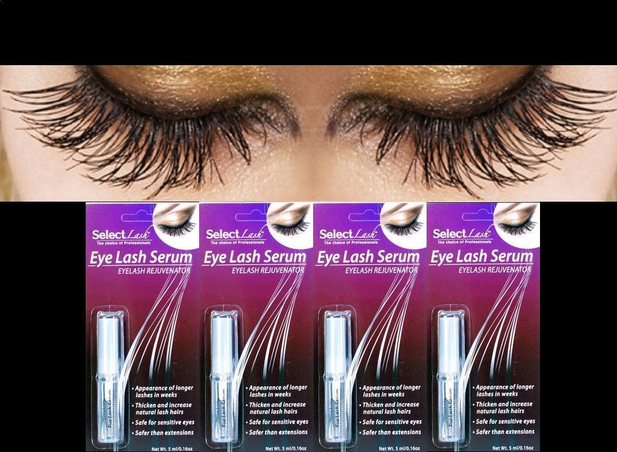 4 Select Lash Growth Serum Longer Thicker Eyelashes Lashes In Weeks Rapid Renew